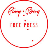 Ping Pong Free Press Logo